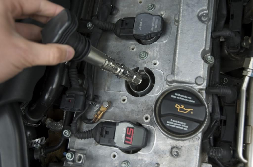 Inlocuire bobine de inductie Audi A4 B6 1.8T