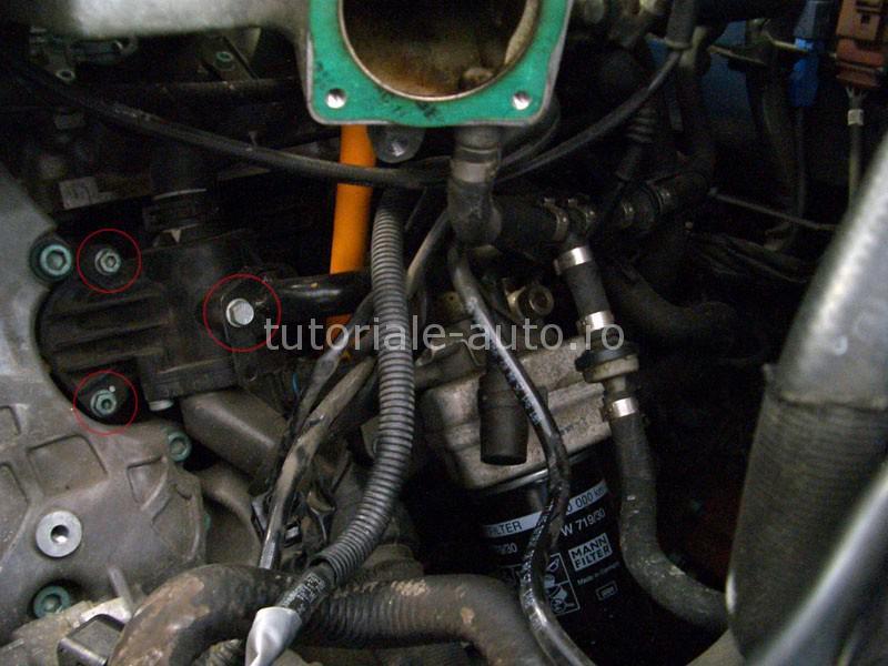 Inlocuire termostat Audi A4 B6 1.8 Turbo
