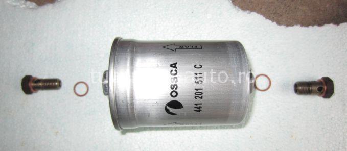 Inlocuire filtru combustibil Audi A6 C5