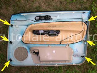 Demontare panouri portiere VW Golf IV | Bora | Jetta