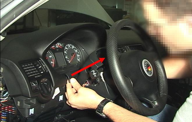 Demontare ceasuri bord VW Golf IV | Bora | Jetta