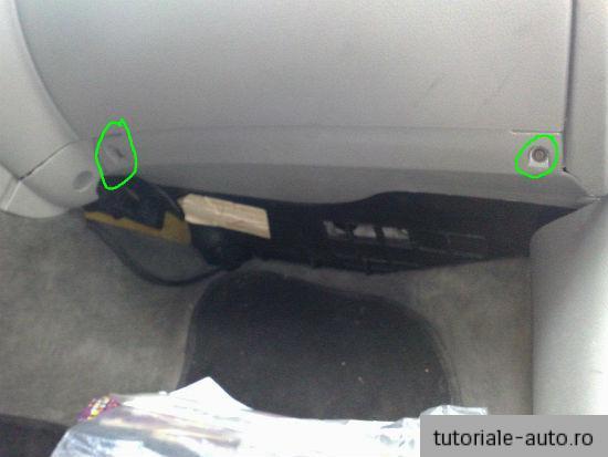 Demontare torpedou VW Passat B5