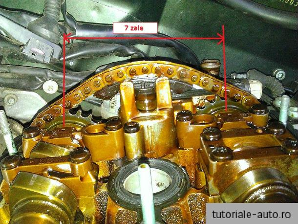 Inlocuire intinzator lant distributie Audi A4 – B6 & B7 – 1.8T