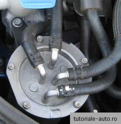 Inlocuire filtru motorina VW Golf 6 TDI