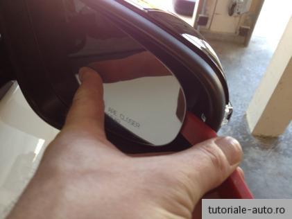 Demontare oglinda VW Golf 6