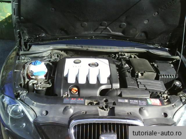 Montare capac motor SEAT Leon / Toledo / Altea