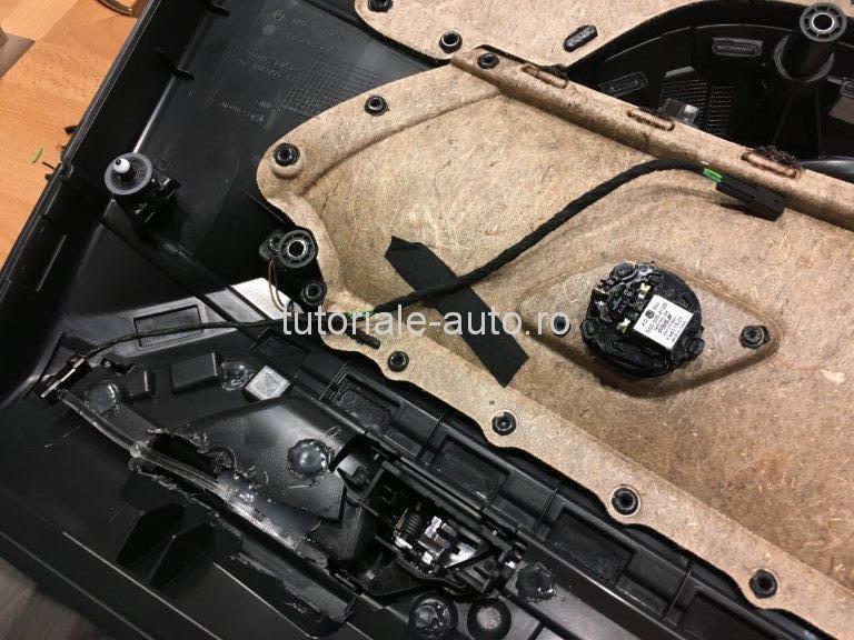 Lumini ambientale scoica si maner DIY VW Golf 7