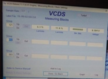 Eroare P2015 – Limitator motoras V120 – DIY VW Passat B6